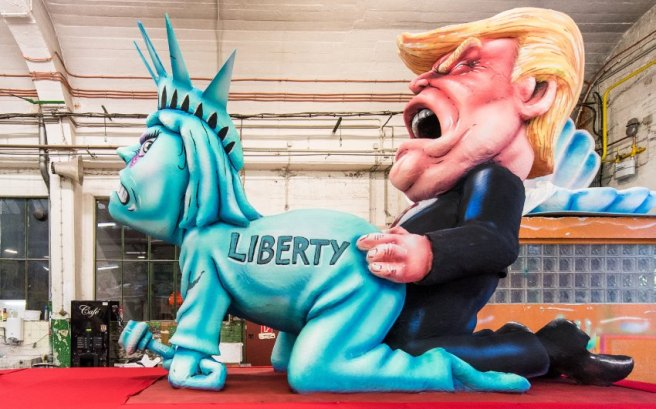 Trump abusing liberty