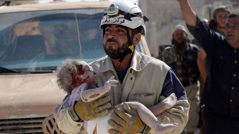 """The White Helmets"" took the Oscar for best documentary short!"