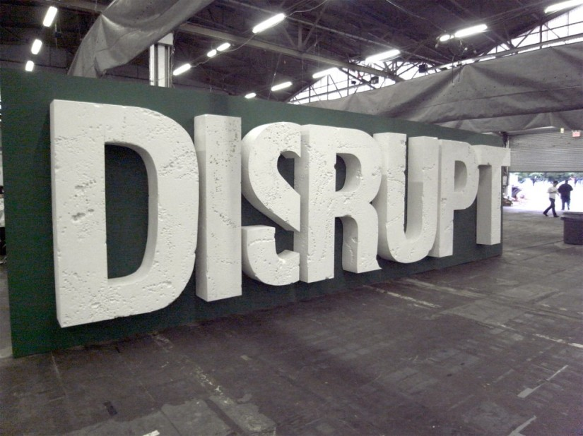 If you promise to disrupt you get more funding…